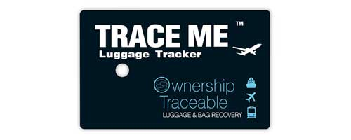 TRACE ME Smart ID luggage tracker tag