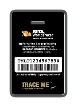 TRACE ME Smart ID luggage tracker tag