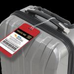 TRACE ME Self-Print Smart ID luggage tracker tag